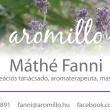 aromillo - Máthé Fanni- aromaterápia felsőfokon, masszázsterápia