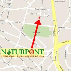 a környék térképe