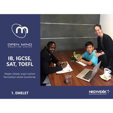 Open Mind, matematika tanár, angol, International Baccalaureate
