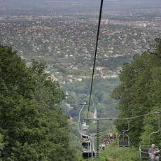 János-hegy, Libegő (Fotó: Bernhard Steiner - wikimedia.org)