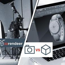 3D modellezés vs fotózás