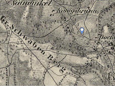 Térképrészlet, Mapire, 1852