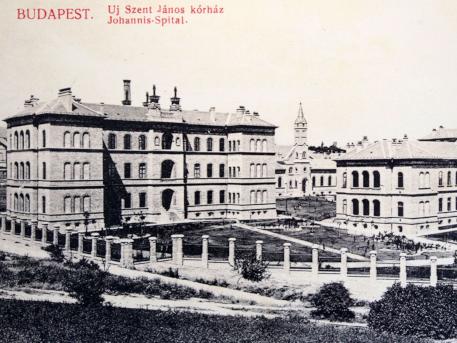 Az Új Szent János Kórház - régen