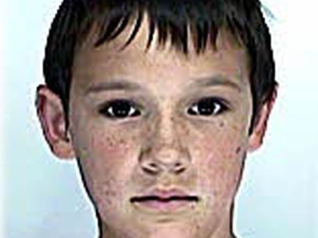 Bacskó Ádám 9 éves korában