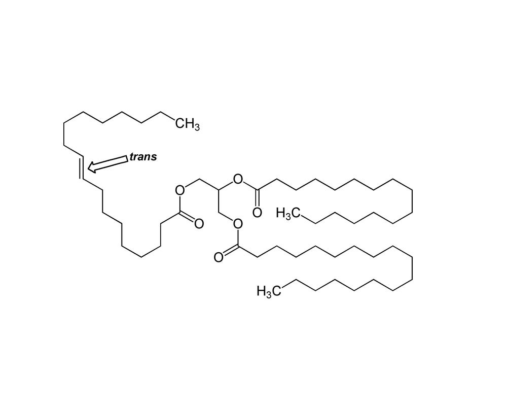 A részlegesen hidrogénezett növényi olajok különösen sok ilyen molekulát tartalmaznak.
