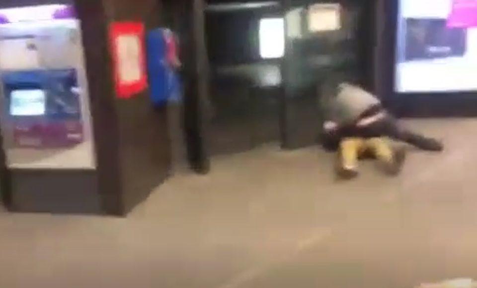Egy képkocka a videóból (Fotó: 24.hu)