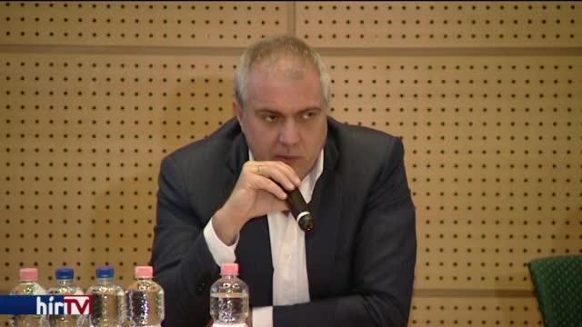 Csontos István, fotó: Hír TV