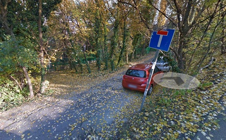 Erre a szakaszra gondolhat Imre, Google Street View