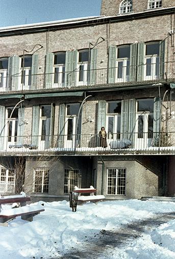 """""""Freilufthaus"""" a harmincas években épült, FOTO:FORTEPAN / Herbály István"""