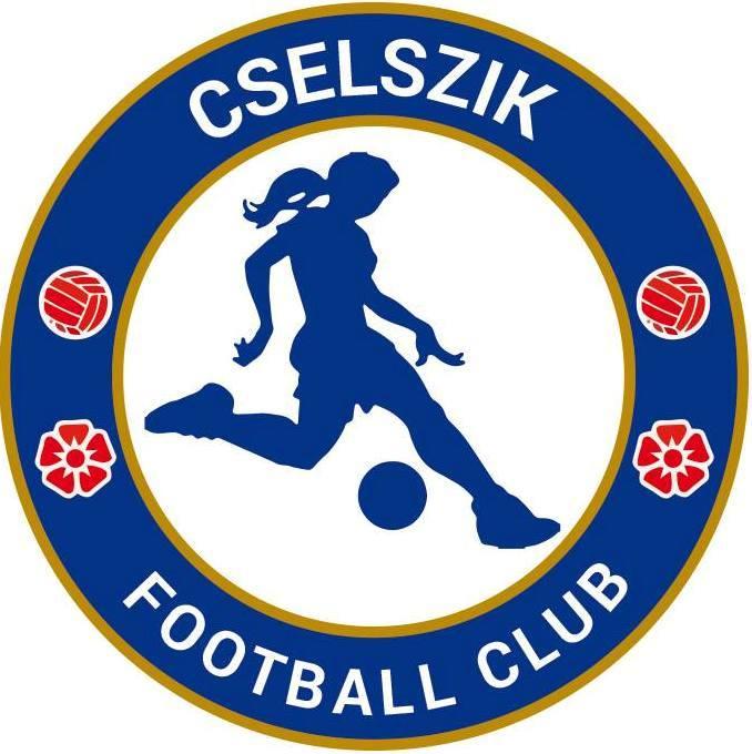 A Cselszik női focicsapat logója