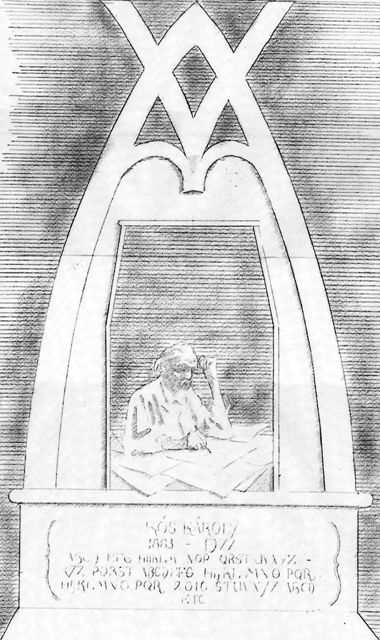 Az emlékhely terve (forrás: hegyvidek.hu)