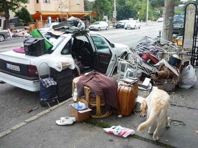 Lomtalanítás a XII. kerületben (fotó: ittlakunk.hu)