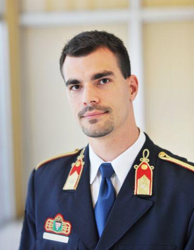 Mukics Dániel, a BM Országos Katasztrófavédelmi Főigazgatóság helyettes szóvivője