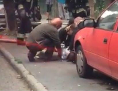 Zara kutya újraélesztési kísérlete az Istenhegyi úton